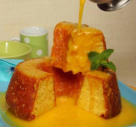 Bolo de laranja muito delicioso