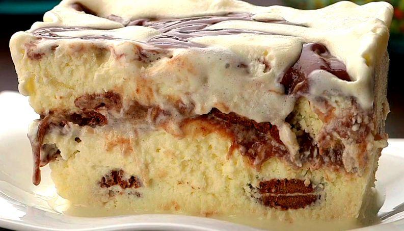 Torta sorvete de chocolate: receita com brigadeiro é a mais prática do mundo