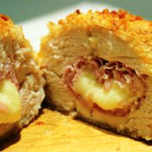 Simples e delicioso:  Rolês de Frango Recheado