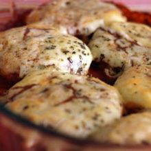 Aprenda a preparar um Frango a parmegiana levíssimo!