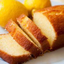 Confira como fazer um bolo de limão maravilhoso.