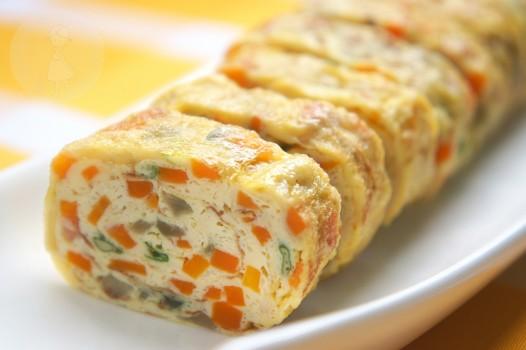 Aprenda a fazer Omelete Japonesa