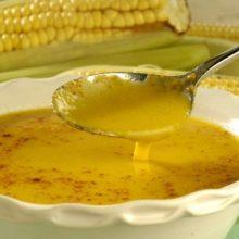 Confira   como preparar  um delicioso  Caldo de milho com gengibre