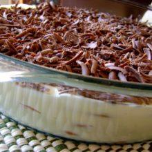 Aprenda a fazer Pavê de Chocolate prático.Saborosíssimo!