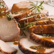 Dica deliciosa para o fim de semana-Lombo de porco assado.