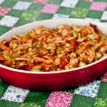 Você vai  amar essa delicia ai . Refogadinho de frango com legumes