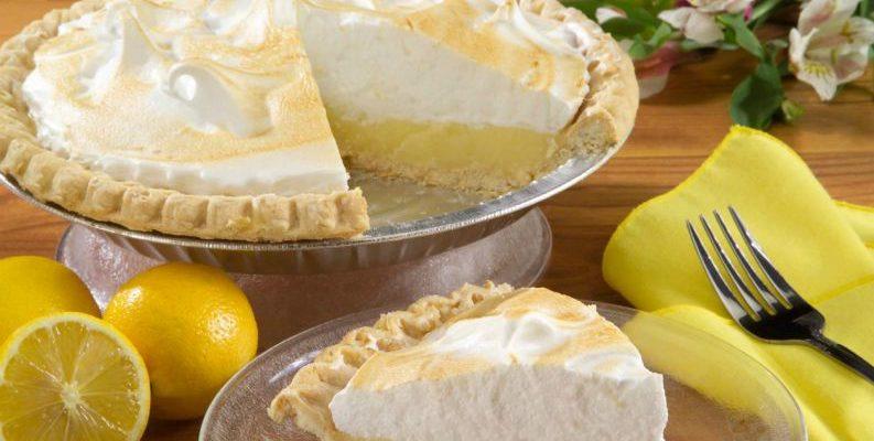 Torta de limão para  um DOMINGO ESPECIAL!