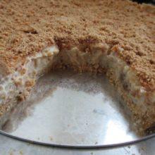 NInguém resiste  essa torta deliciosa de amendoim