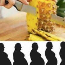 Esta é a melhor dieta do abacaxi-Você ainda não  a conheçe e perderá até 5 kg em apenas 3 dias !