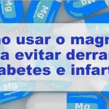 Magnésio vai proteger você contra derrame, diabetes e infarto se usá-lo desta forma! O poder do magnésio é imenso.