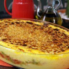 Polenta de Alecrim com Frango Cremoso-simplismente deliciosa!