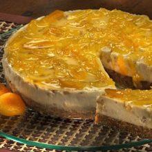 Receita de torta de nozes com damasco-é uma receita tradicional para um dia especial!