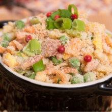 Farofa de cenoura COM OVOS  é uma opção crocante, saborosa e de fácil preparo!
