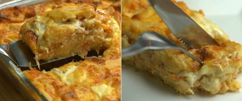 Torta de frango cremosa de liquidificador: saiba como preparar receita saborosa :