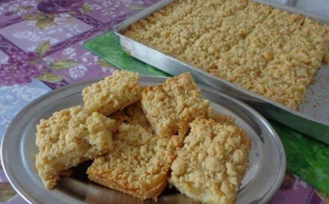 Uma receita deliciosa esse bolo de farofa
