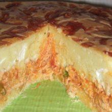 Essa torta  de frango com catupiry é perfeita  e muito fácil de fazer