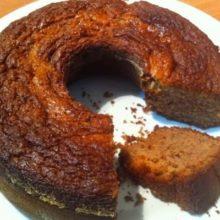 Delicioso bolo de maçã e canela perfeito para diabéticos e para quem quer emagrecer (sem glúten nem leite)