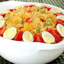 Realce o sabor do arroz integral com essa receita especial!