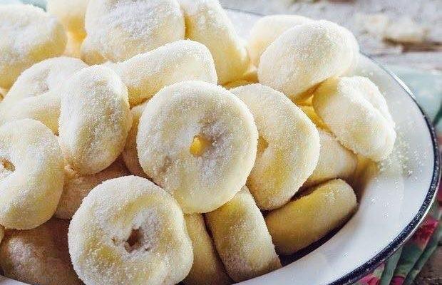 Rosquinhas  macias e deliciosas e facinha de fazer