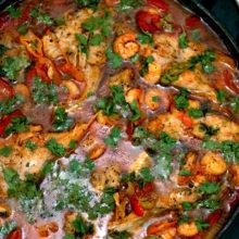 Peixada Goiania-Passo a passo -uma receita deliciosa