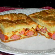 Hot dog de forno  (liquidificador)