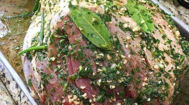 Pernil marinado pro fim de semana