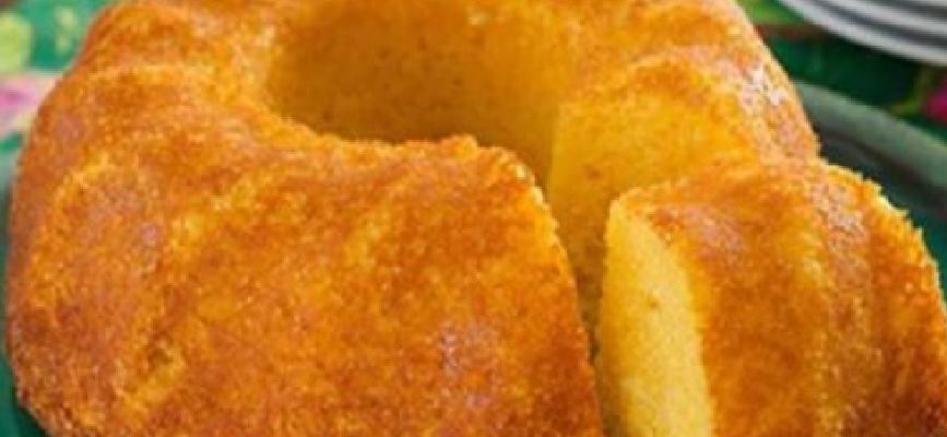 Bolo de milho funcional: nutricionista dá receita saudável e gostosa