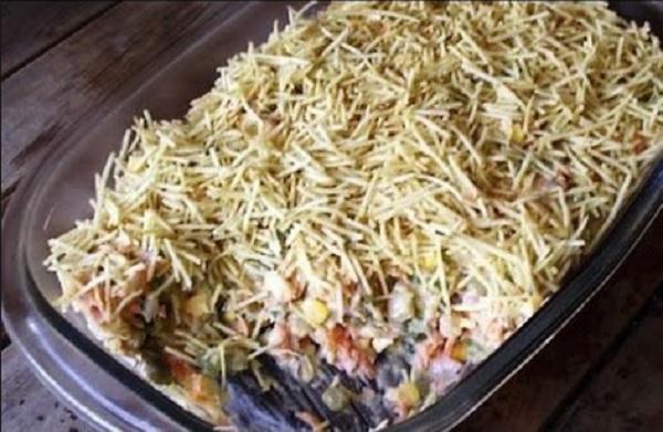 Salpicão de Bacalhau é prático, delicioso e perfeito para ocasiões especiais.