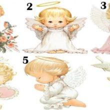Escolha um anjo e veja uma linda mensagem de Deus em sua vida