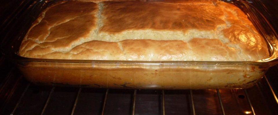 Pastelão assado de liquidificador fica uma delícia