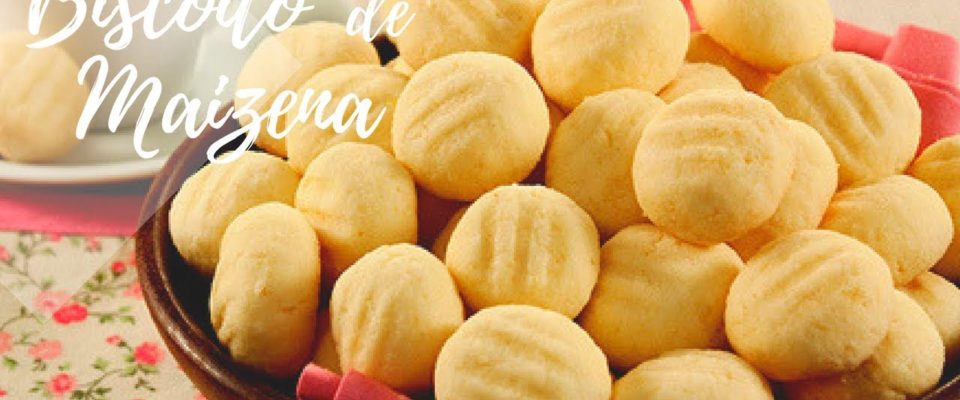 Biscoito de maisena com Leite condensado: Receita fácil e deliciosa