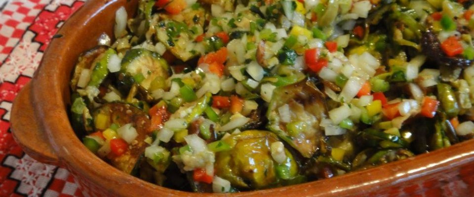 Salada de jiló uma receita deliciosa