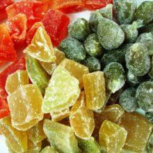 Aprenda a fazer fruta cristalizada