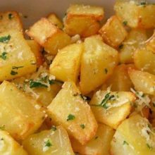 Batatas Souté que é uma delicia de receita