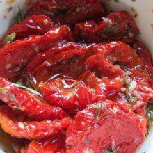 Tomates Secos em Conserva