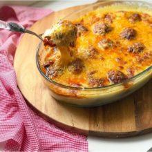 Faça você também essa deliciosa Almôndegas de Carne ao Molho Rosé