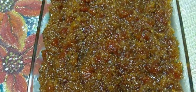 Aprenda a fazer esse doce delicioso do Mamão Verde Ralado
