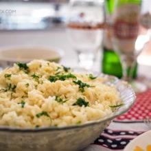 Confira essa receita deliciosa de Risoto com Palmito