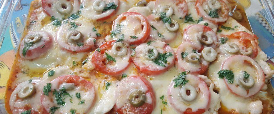 Frango á pizzaiolo uma receita simples  e  cheio de sabor