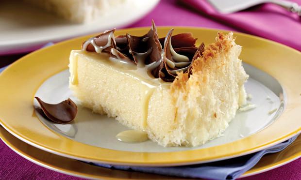 Torta de Leite Condensado e Coco