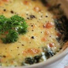 Batata com Brócolis ao Forno