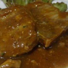 Carne de Panela com Molho Madeira