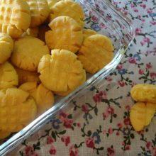 Biscoitinhos delicioso  de fubá