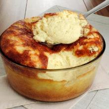 Aprenda a fazer um delicioso Suflê de Mandioca