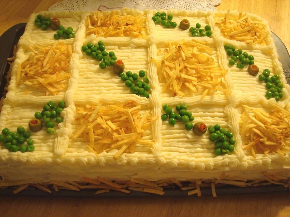 Torta fria e deliciosa