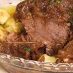 Bolinho de Carne com Batata