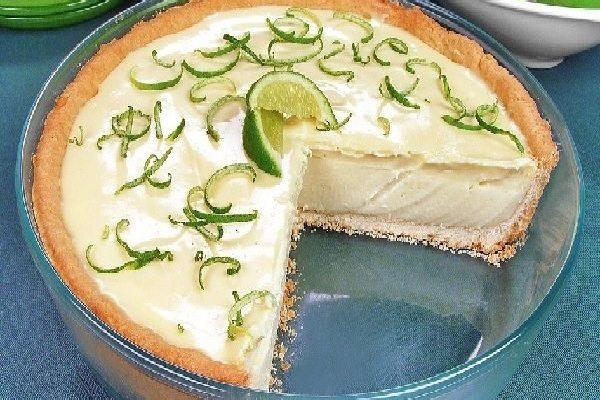 Torta Gelada de Limão