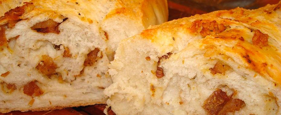 Pão de Torresmo Delicioso e Fácil de Fazer