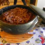 Sopa de Mandioca com Costela