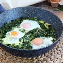 Espinafre com Ovos
